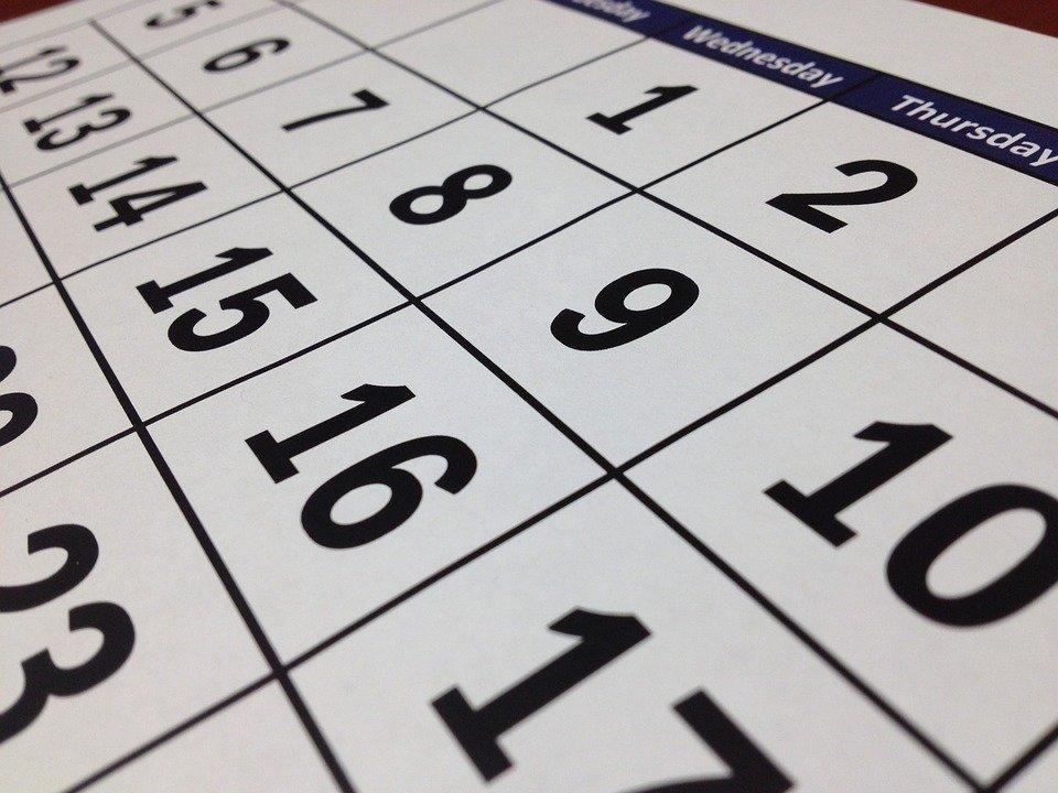 Jeu – jours de la semaine – mettre en ordre