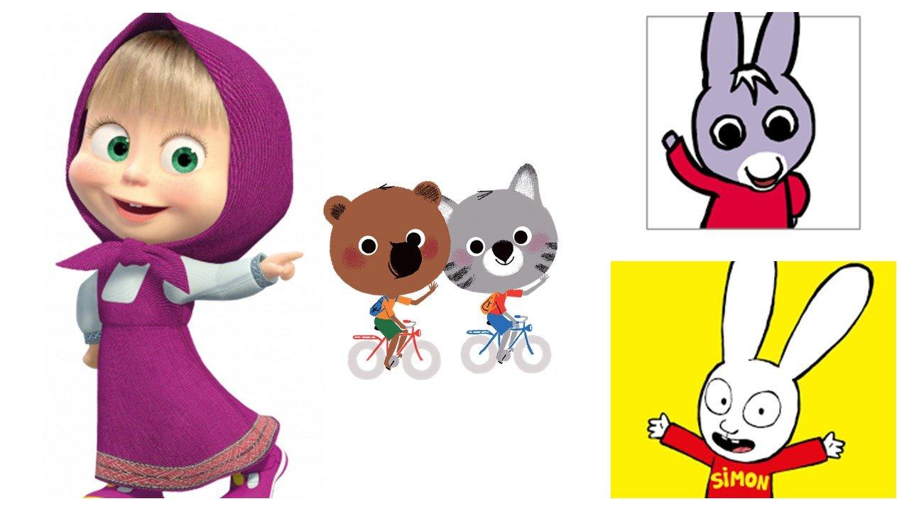 Ma liste de dessins animés