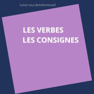 Read more about the article Des cartes images – les verbes