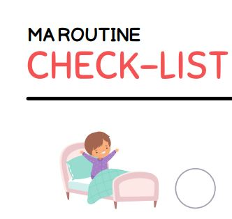 Read more about the article Checklist – Ma routine du matin